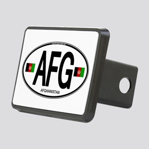 Afghanistan Euro Oval Rectangular Hitch Cover