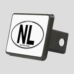 nl-oval-plain Rectangular Hitch Cover