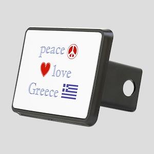 PeaceLoveGreece Rectangular Hitch Cover