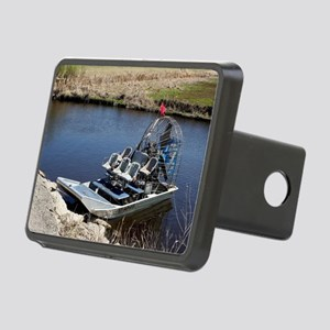 Florida swamp airboat 2 Rectangular Hitch Cover
