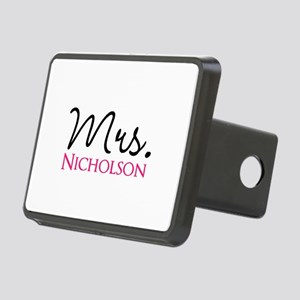 Customizable Name Mrs Rectangular Hitch Cover
