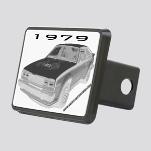 AMX Ray Rectangular Hitch Cover