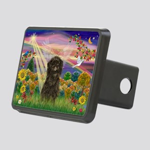 Autumn Angel /Affenpinscher Rectangular Hitch Cove