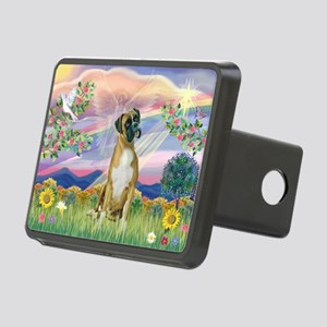 Cloud Angel & Boxer Rectangular Hitch Cover