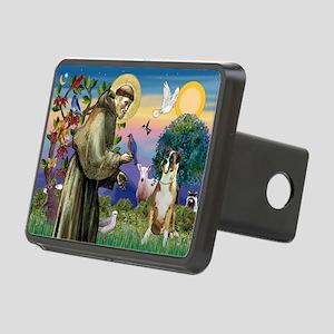 Saint Francis & Boxer Rectangular Hitch Cover