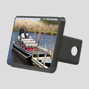 Florida swamp airboat Rectangular Hitch Cover