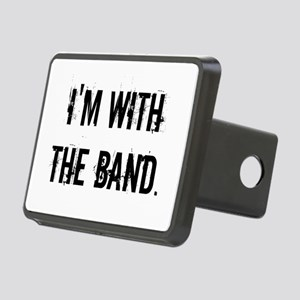 I'm With the Band. Rectangular Hitch Cover