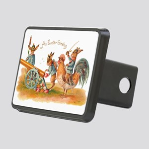 Easter Bunny War Vintage Hitch Cover