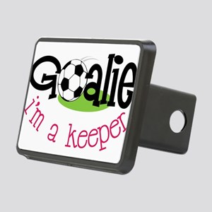 I'm A Keeper Rectangular Hitch Cover