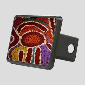 Australian Aboriginal Rectangular Hitch Cover