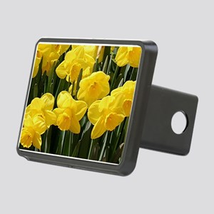 Daffodil flowers in bloom Hitch Cover
