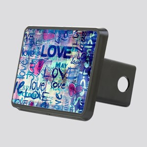 Abstract Love Painting Hitch Cover