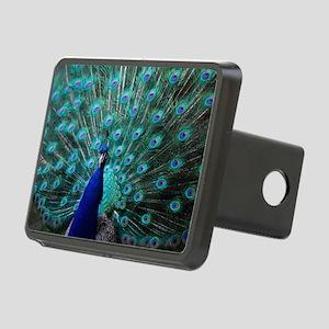 Peacock Rectangular Hitch Cover