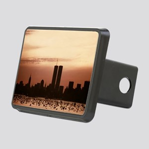 Dawn Over Liberty Rectangular Hitch Cover