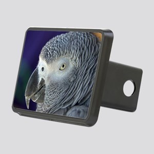 African Gray Rectangular Hitch Cover