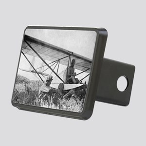 Antonov and his glider, 19 Rectangular Hitch Cover