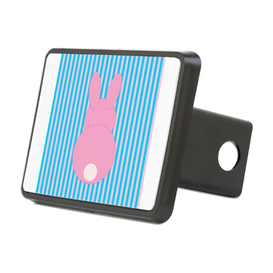 Pink and Teal Bunny