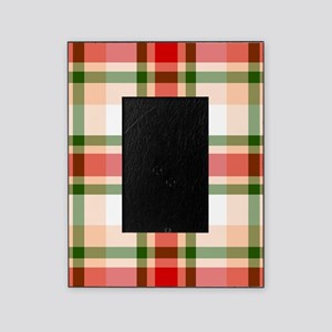 Christmas Plaid Picture Frame