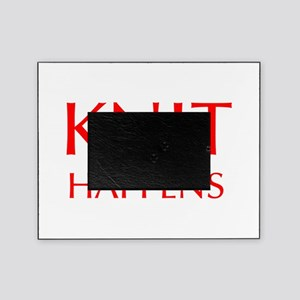 knit-happens-OPT-RED Picture Frame