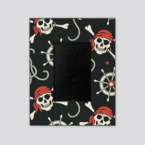 Pirate Skulls Picture Frame