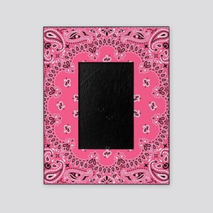 Pink Bandana Picture Frame