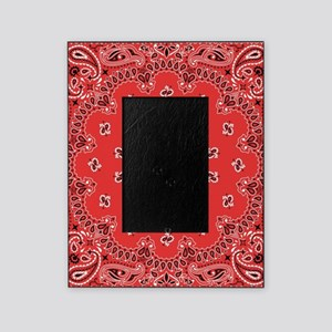 Red Bandana Picture Frame