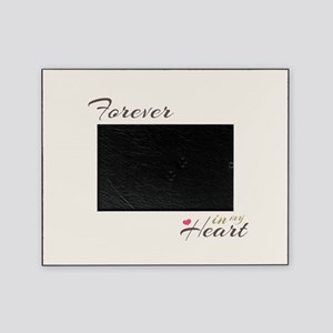 Pet Loss My Forever Memorial Cream Picture Frame