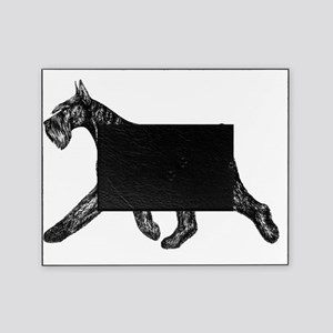 Giant Schnauzer Moving Side Picture Frame