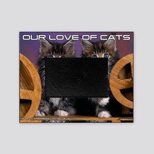 Cover Cat Picture Frame