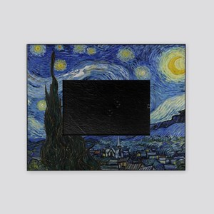 starry trek night Picture Frame