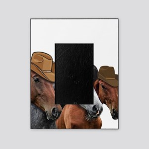 Cowboy Horses Picture Frame