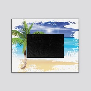 Beach Scene Picture Frame