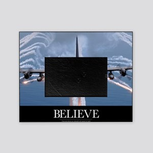 Military Poster: An AC-130H Gunship  Picture Frame