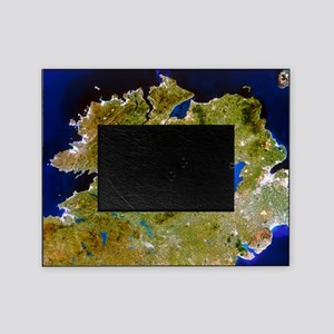 True-colour satellite image of Ulste Picture Frame