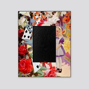 Alice Painting Roses 10x14 Picture Frame