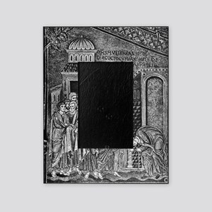 Jesus the healer, 12th century Picture Frame