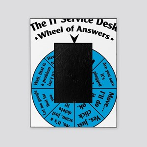IT Wheel of Answers Picture Frame