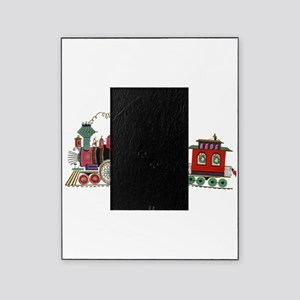 Christmas Santa Toy Train Picture Frame