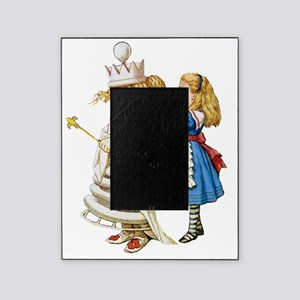 Alice  WHITE QUEEN SOLO_RD Picture Frame