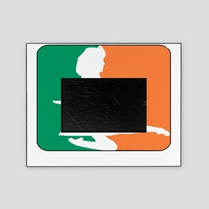 ID TriColor Girl DARK 10x10_apparel Picture Frame