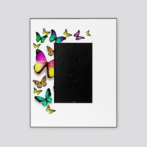 Colorful Butterfly Picture Frame