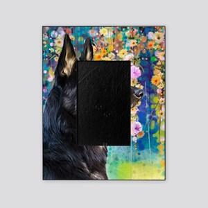 German Shepherd Painting Picture Frame