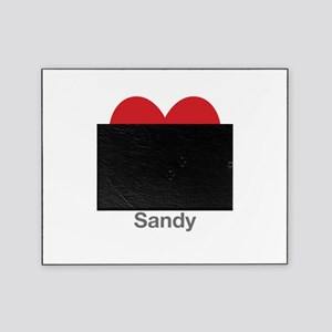 Sandy Big Heart Picture Frame
