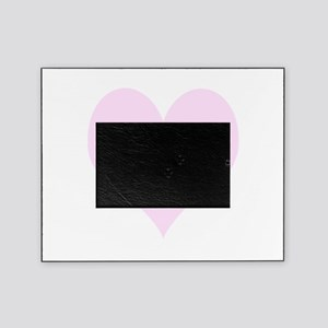 Pink Number 1 Heart Picture Frame