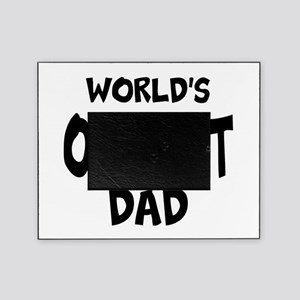 Worlds Okayest Dad Picture Frame