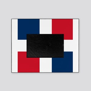 Flag of the Dominican Republic Picture Frame