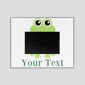 Personalizable Green Frog Picture Frame