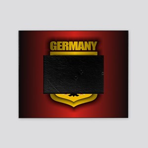 German Stl (round) Picture Frame