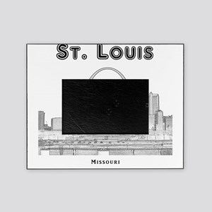 StLouis_10x10_Downtown_Black Picture Frame