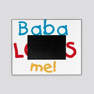 Baba Loves Me Picture Frame